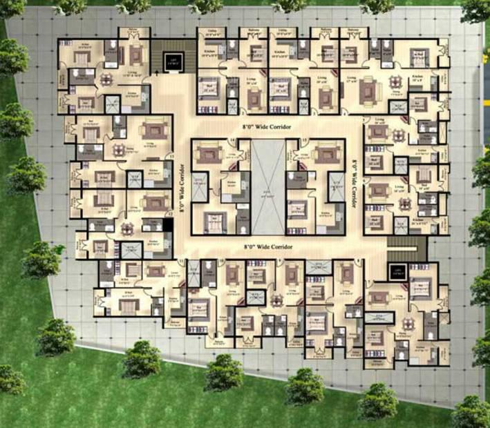 Images for Cluster Plan of Sree Daksha Adyant