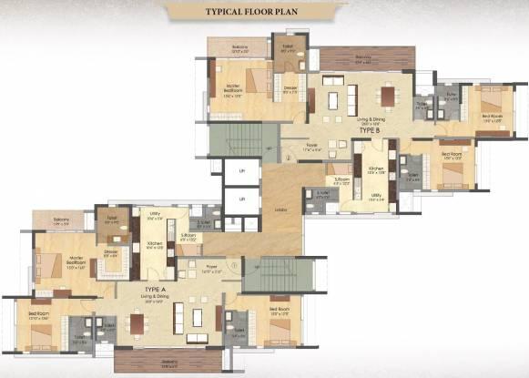 Images for Cluster Plan of Prestige Deja Vu