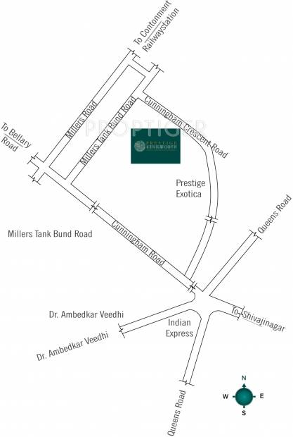 Images for Location Plan of Prestige Kenilworth