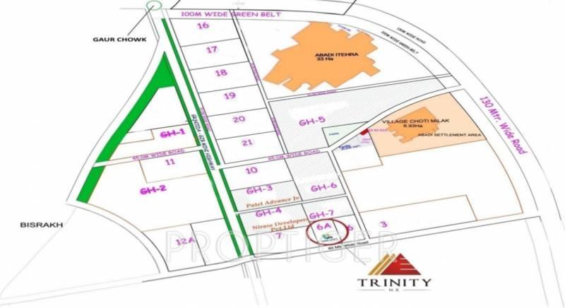 trinity Images for Location Plan of Urbainia Trinity