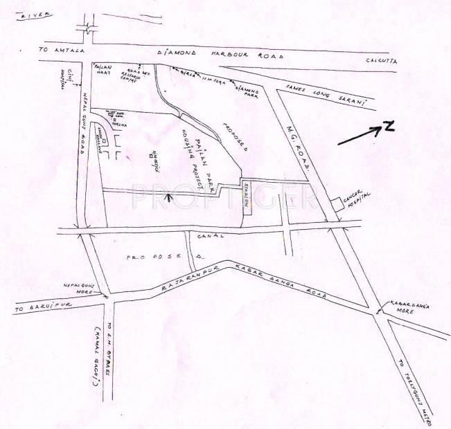 Images for Location Plan of Pailan Bengal Pailan Park