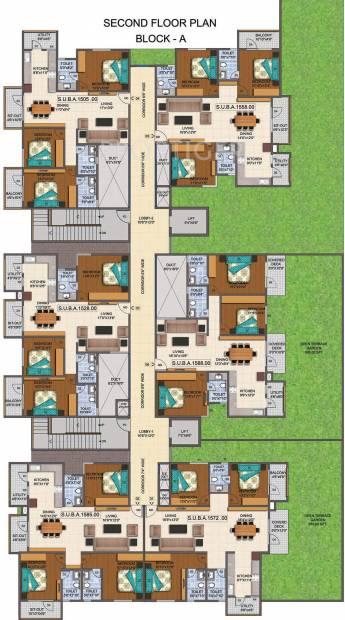 Images for Cluster Plan of Mahaveer Promenade