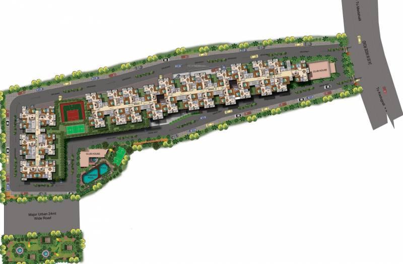 promenade Images for Layout Plan of Mahaveer Promenade