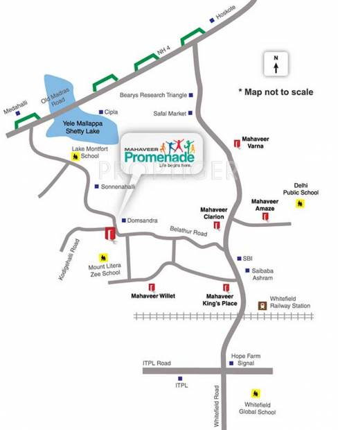 Images for Location Plan of Mahaveer Promenade