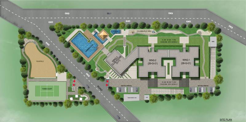 avenue Images for Site Plan of Sobha Avenue