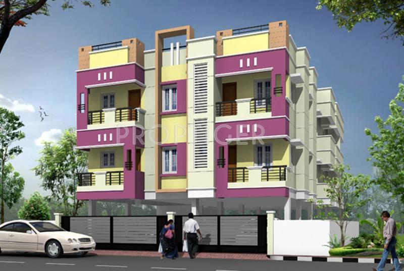 Images for Elevation of Bharathi Manish Apartment