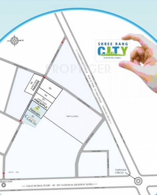 Images for Location Plan of Shree Rang City