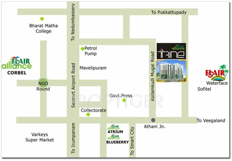 flairalliance-builders-and-developers corbel Location Plan