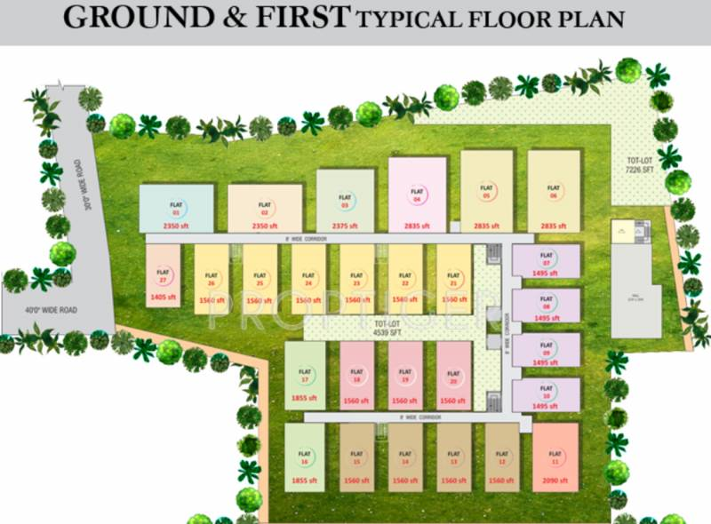 Images for Cluster Plan of Navya GadiRaju Empire