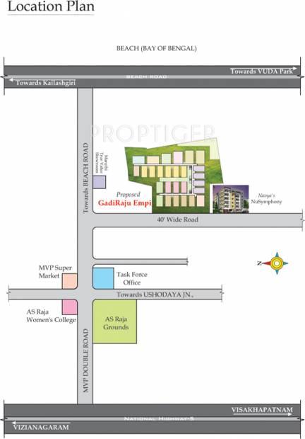 Images for Location Plan of Navya GadiRaju Empire