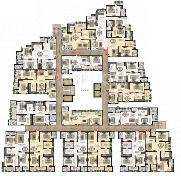 Images for Cluster Plan of Vardhman Horizon
