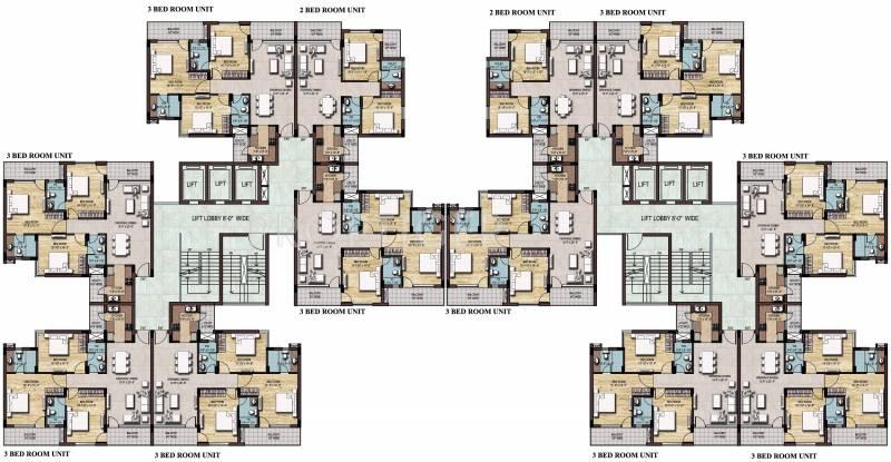 riyaasat Images for Cluster Plan of Omaxe Riyaasat