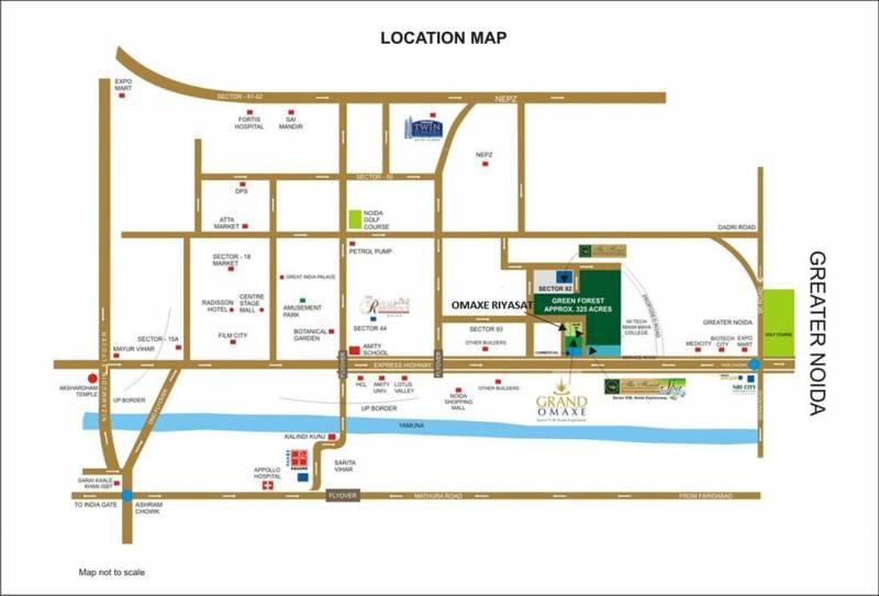 riyaasat Images for Location Plan of Omaxe Riyaasat