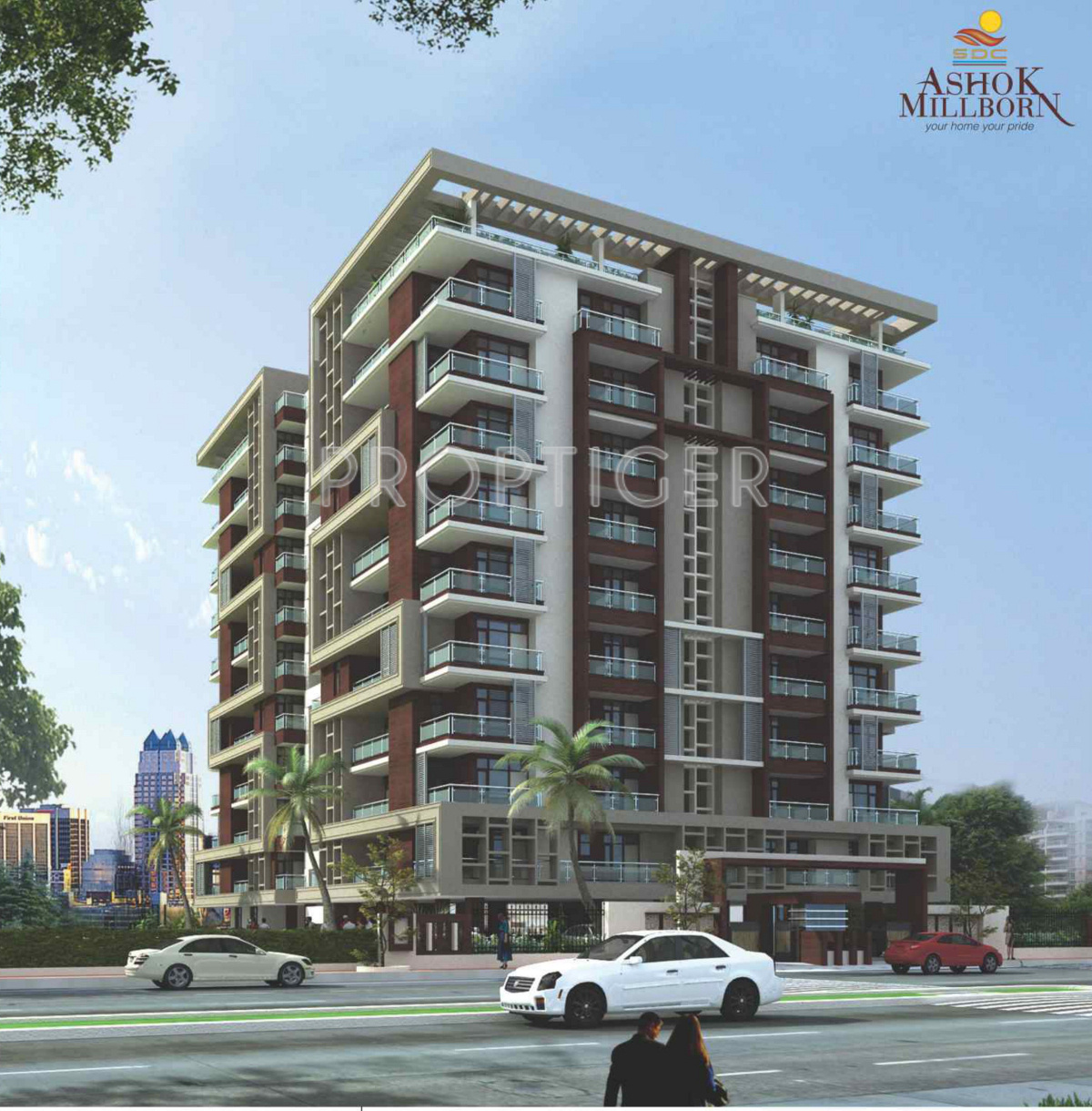 2890 Sq Ft 4 Bhk 5t Apartment For Sale In Sdc Ashok