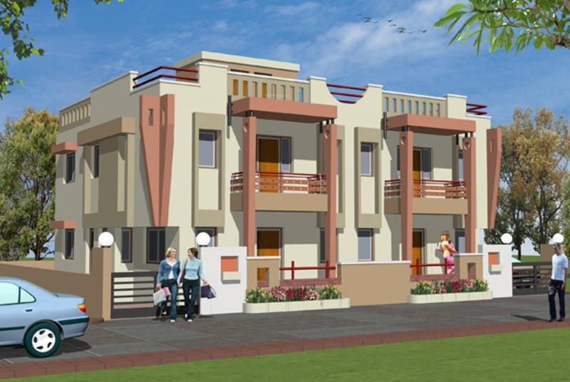 Images for Elevation of Savaliya Builders Krish Banglows II