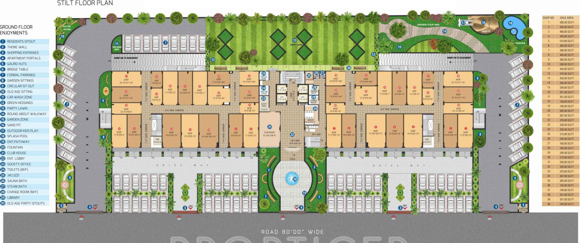 1610 sq ft 3 bhk 3t apartment for sale in sdc courtyard for Old age home designs