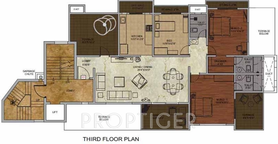 2500 sq ft 4 bhk 4t apartment for sale in taksheel group for 2500 sq ft apartment plans