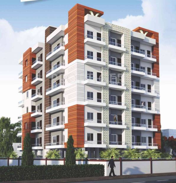 metro-builders-and-developers gulmohar Elevation