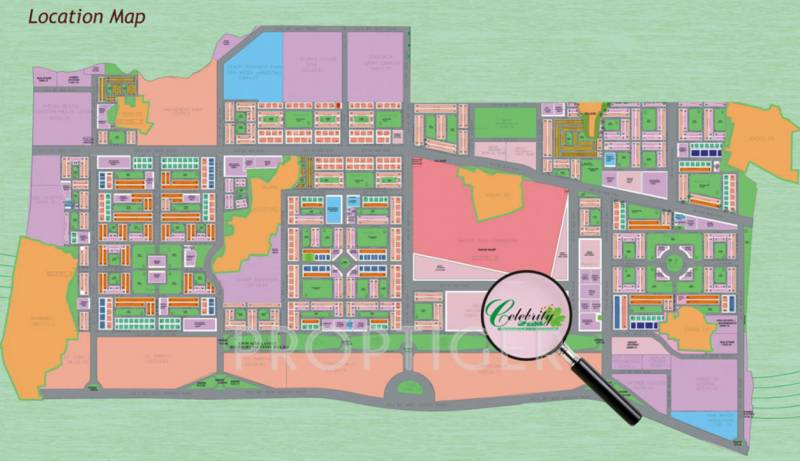 celebrity-greens Images for Location Plan of Ansal Celebrity Greens