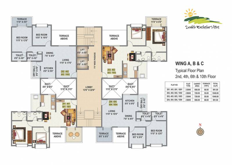 Images for Cluster Plan of Sankla Exclusive Vistas