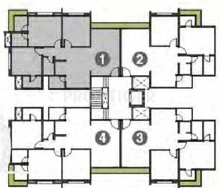 Images for Cluster Plan of Rajhans Orange