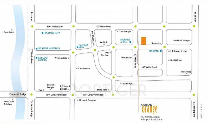 Images for Location Plan of Rajhans Orange