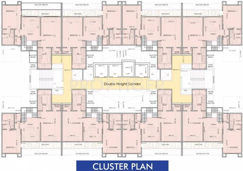 Images for Cluster Plan of Aarcity Sky Villas