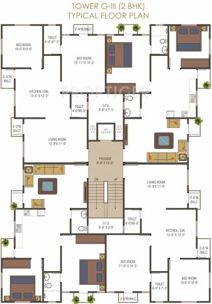 Images for Cluster Plan of M P Developers Ahmed Park Phase II