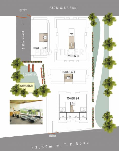 Images for Layout Plan of M P Developers Ahmed Park Phase II