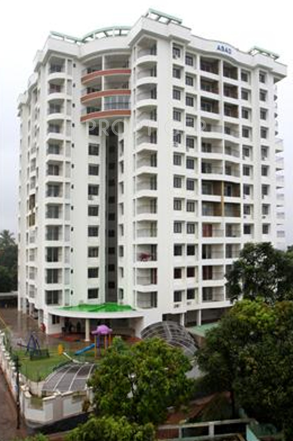 1555 sq ft 3 bhk 4t apartment for sale in abad green for Terrace elevation