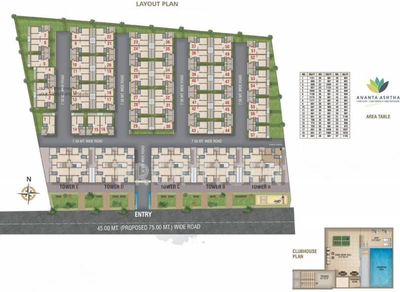 Images for Master Plan of Ananta Ashtha