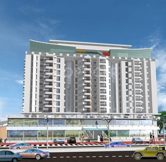 bcg-builders residency-towers Elevation