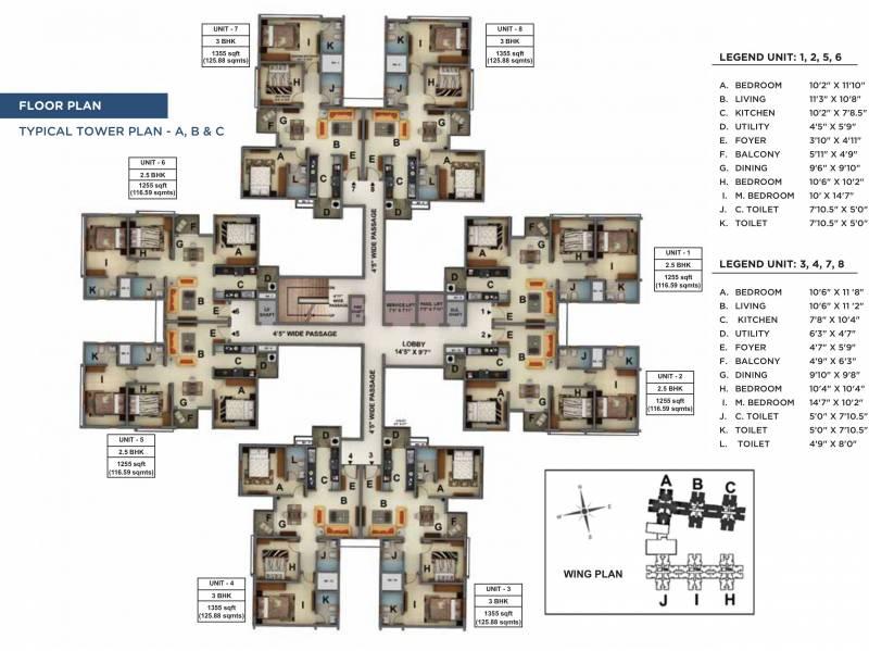 Images for Cluster Plan of Mantri Manyata Energia