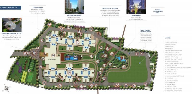Images for Layout Plan of Mantri Manyata Energia