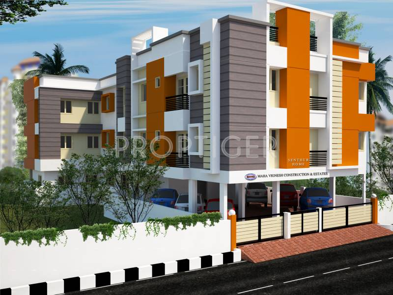 Images for Elevation of Mahaa Vignesh Senthur Home