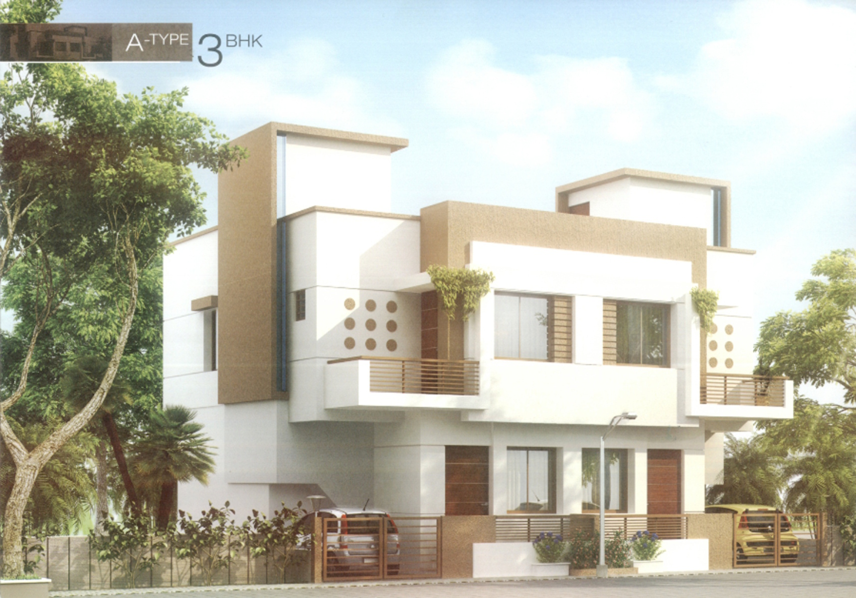 2055 sq ft 4 bhk floor plan image shree enterprise hari for Duplex builders near me
