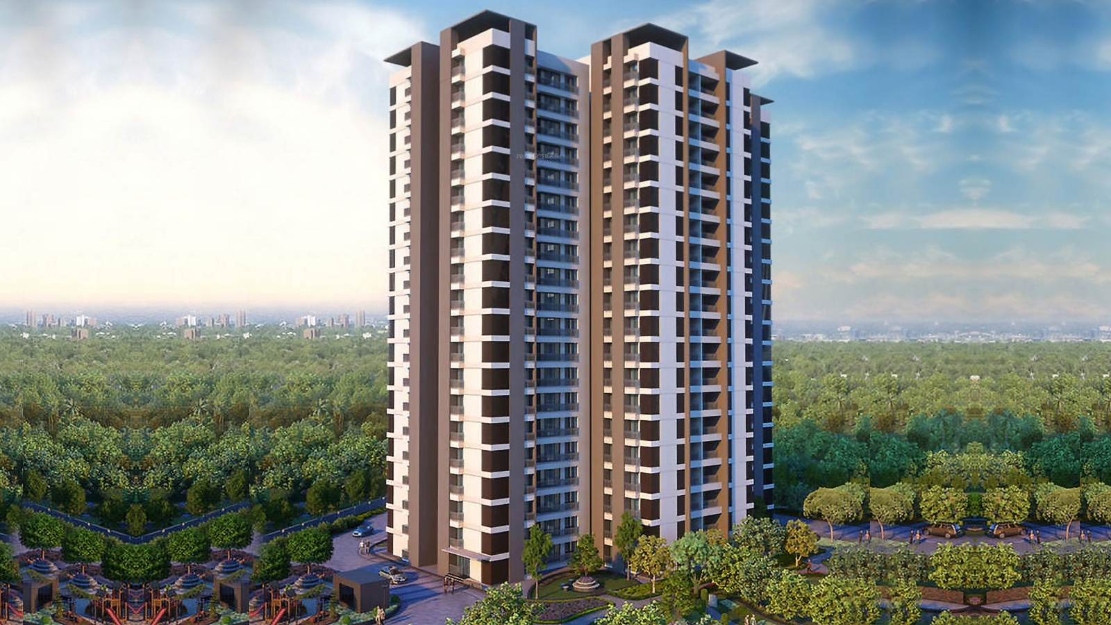 1762 sq ft 3 BHK 3T Apartment for Sale in Alembic Urban Forest