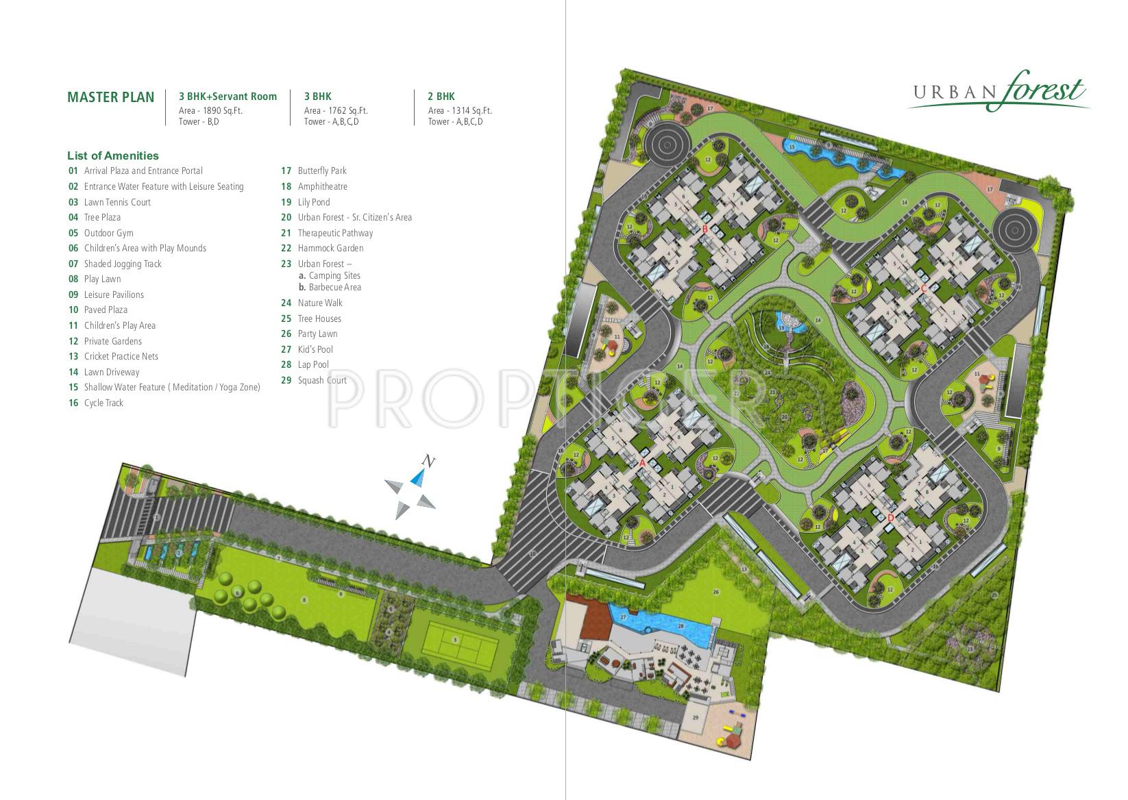 Alembic Urban Forest In Kadugodi Bangalore Price Location Map Floor Plan Reviews Proptiger Com