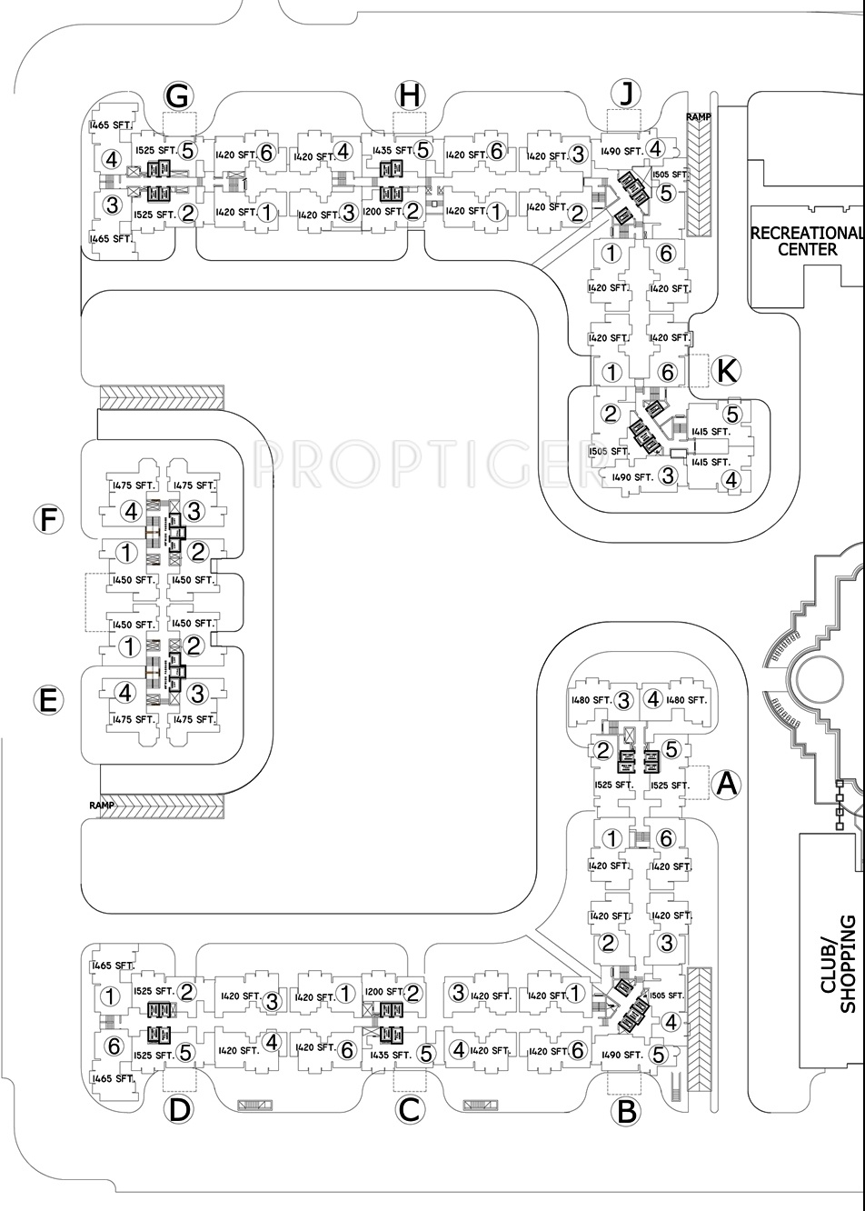Dlf Capital Greens Phase 1 And 2 In Karampura Delhi Price Power Plant Layout Drawings 7