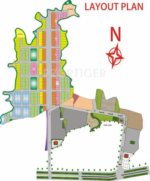 Images for Layout Plan of Dwarkadheesh Gokuldham