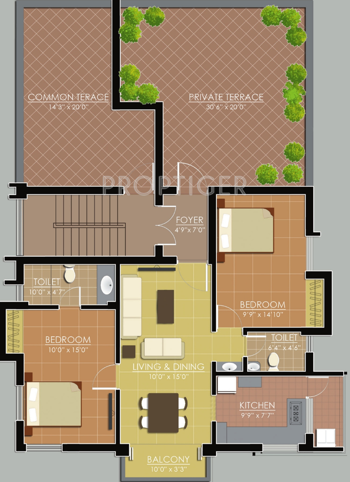 1000 sq ft 2 bhk 2t apartment for sale in ankur for 1000 sq ft apartment