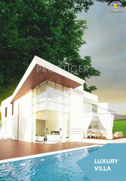 Images for Elevation of Le Solitairian Solitairian City Villa