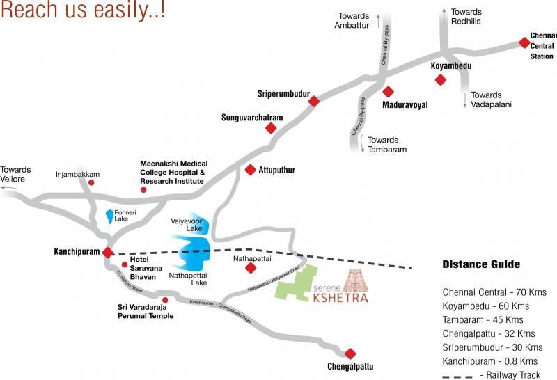Images for Location Plan of Serene Kshetra