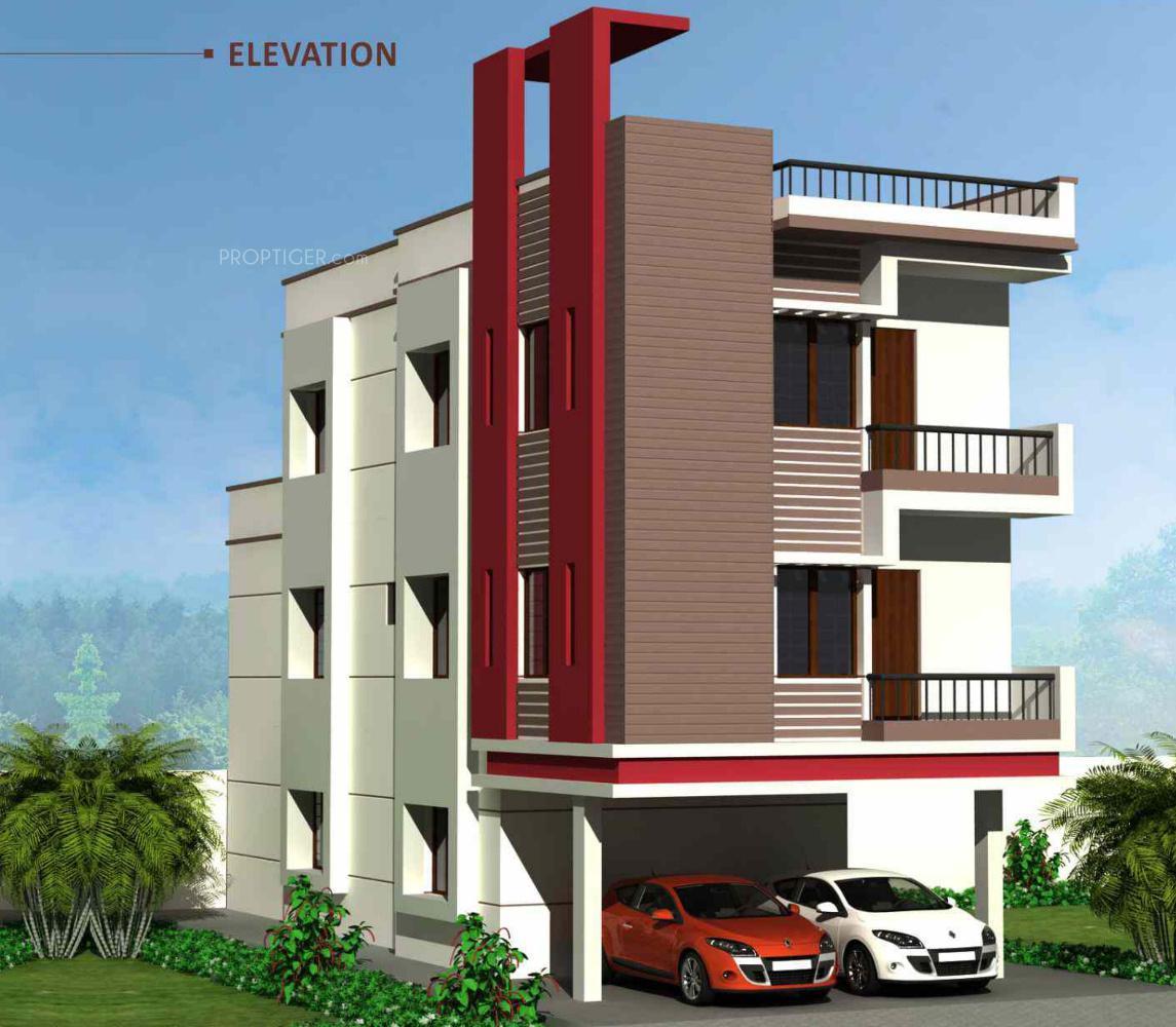 Front Elevation Of House In Kolkata : Bhk cluster plan image av constructions