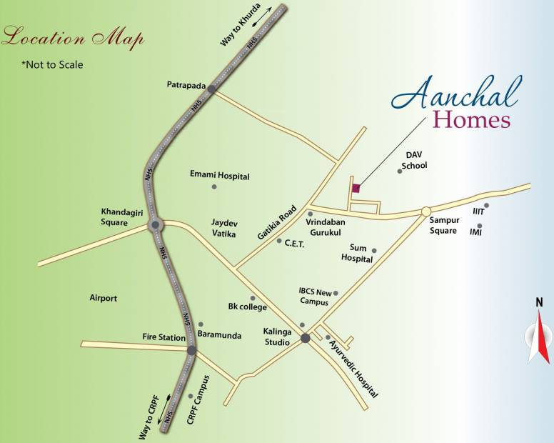 Images for Location Plan of Bhavishya Aanchal Homes