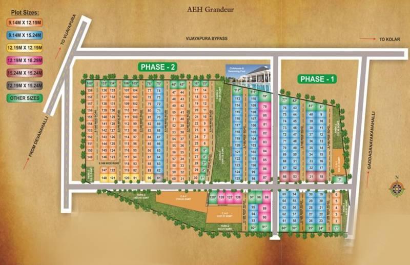 Images for Layout Plan of Apranje Grandeur