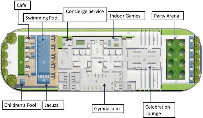 Images for Layout Plan of R R Builders Godrej Sky