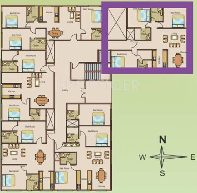 Images for Cluster Plan of Manasa Anantha Leela