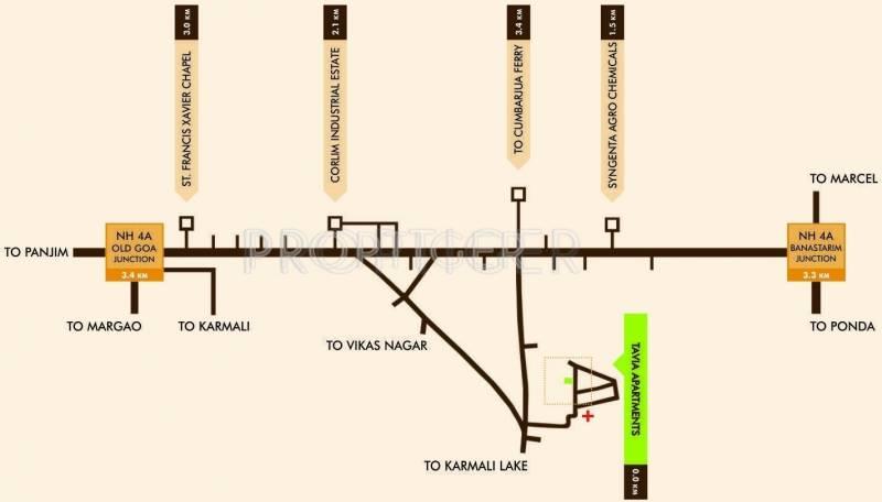 linc-property-developers-ltd tavia-apartments Location Plan