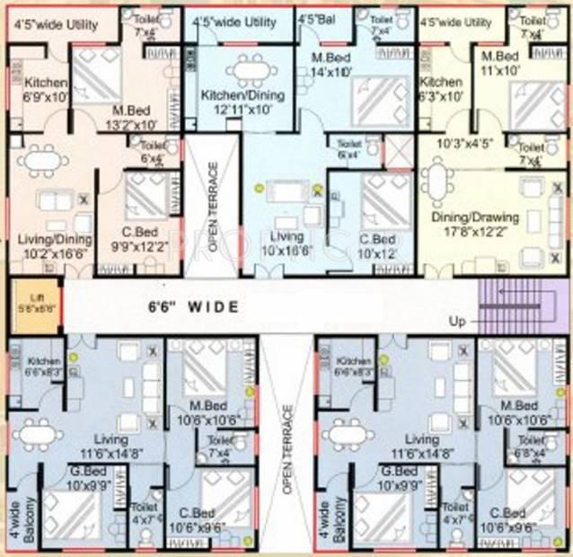 Images for Cluster Plan of Ajantha Vyshnavi Enclave